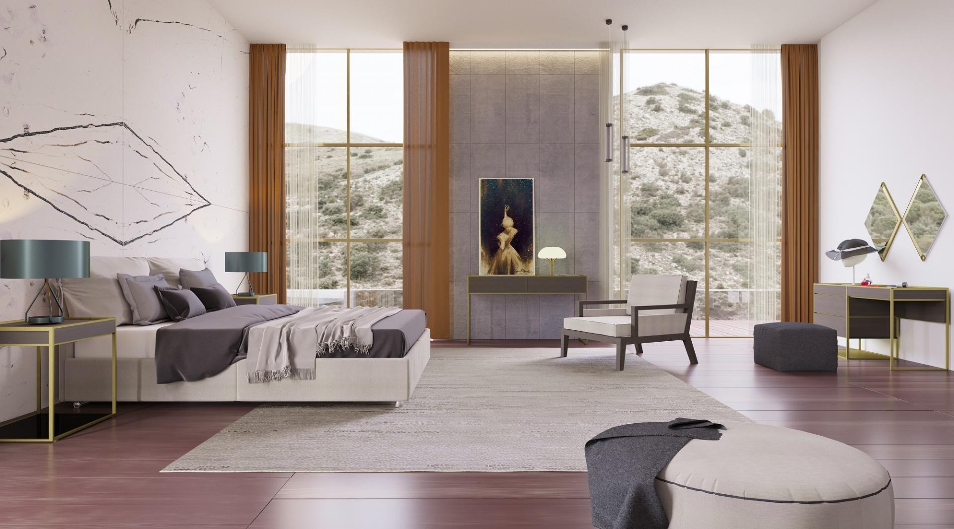 Aspendos Bedrooms