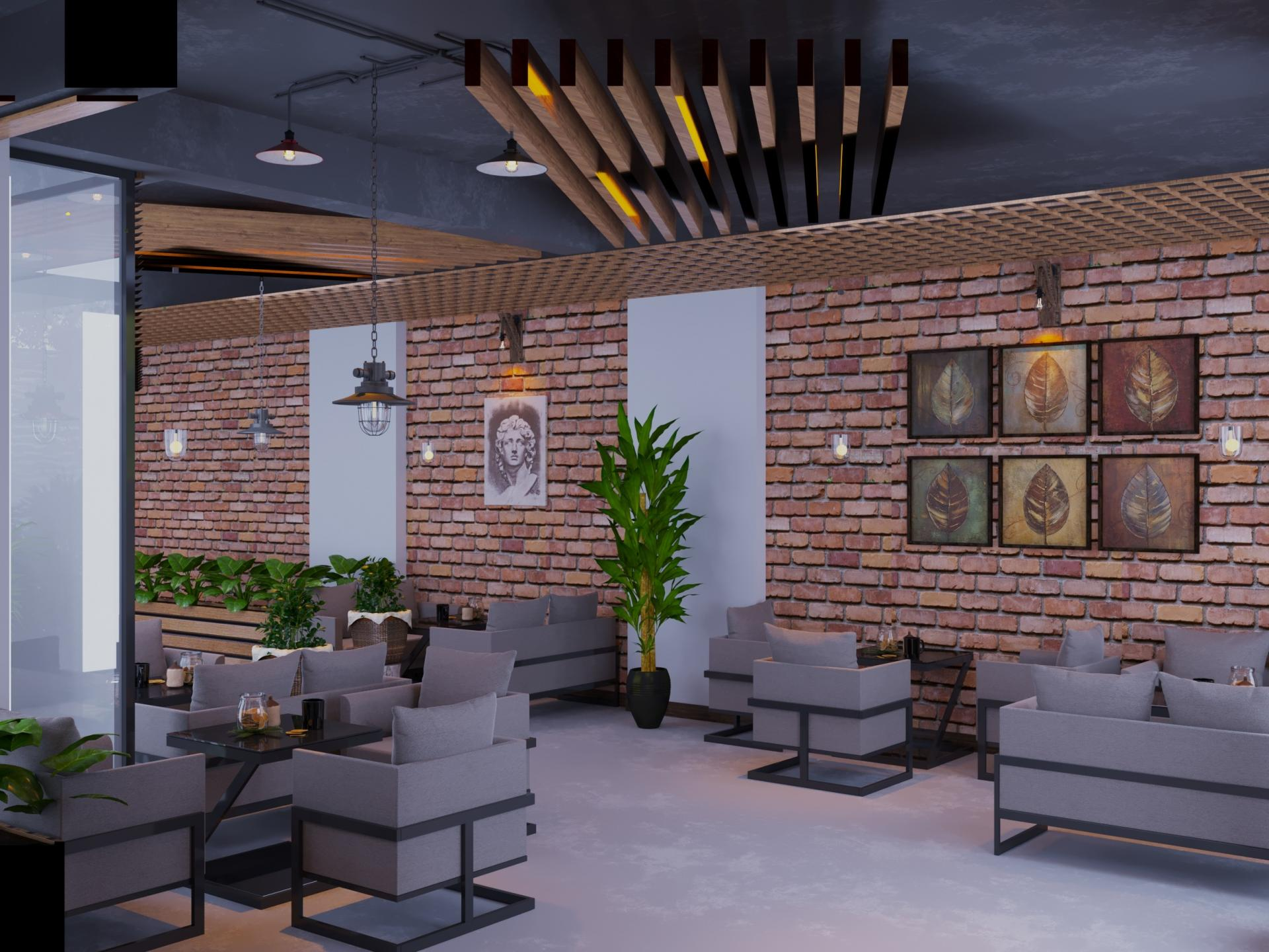 Cafe Proje Tasarımı
