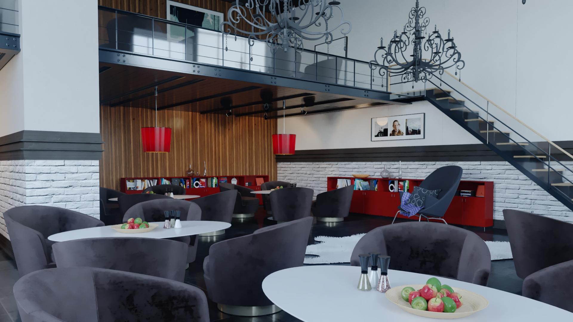 Restaurant Dekorasyon Projesi