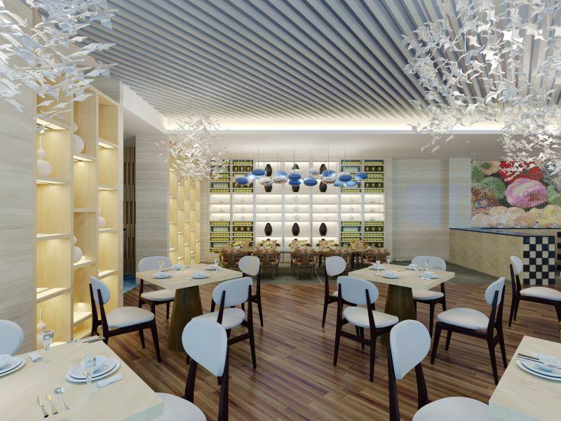 Cafe ve Restoran Dekorasyonu İç Mimari Projesi