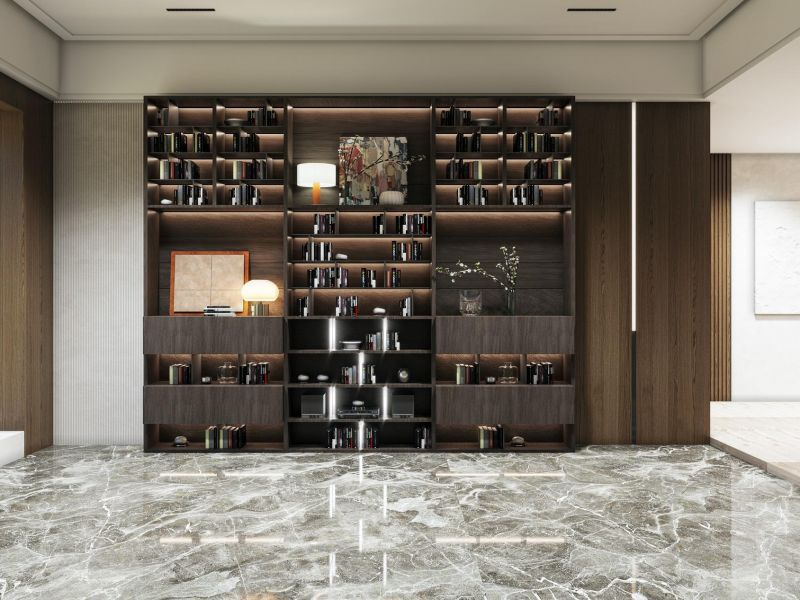 Ergani Bookshelf / Bar
