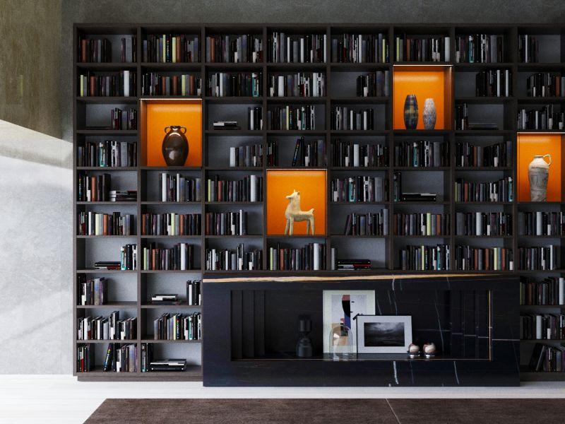 Kütüphane Kitaplık / Bar
